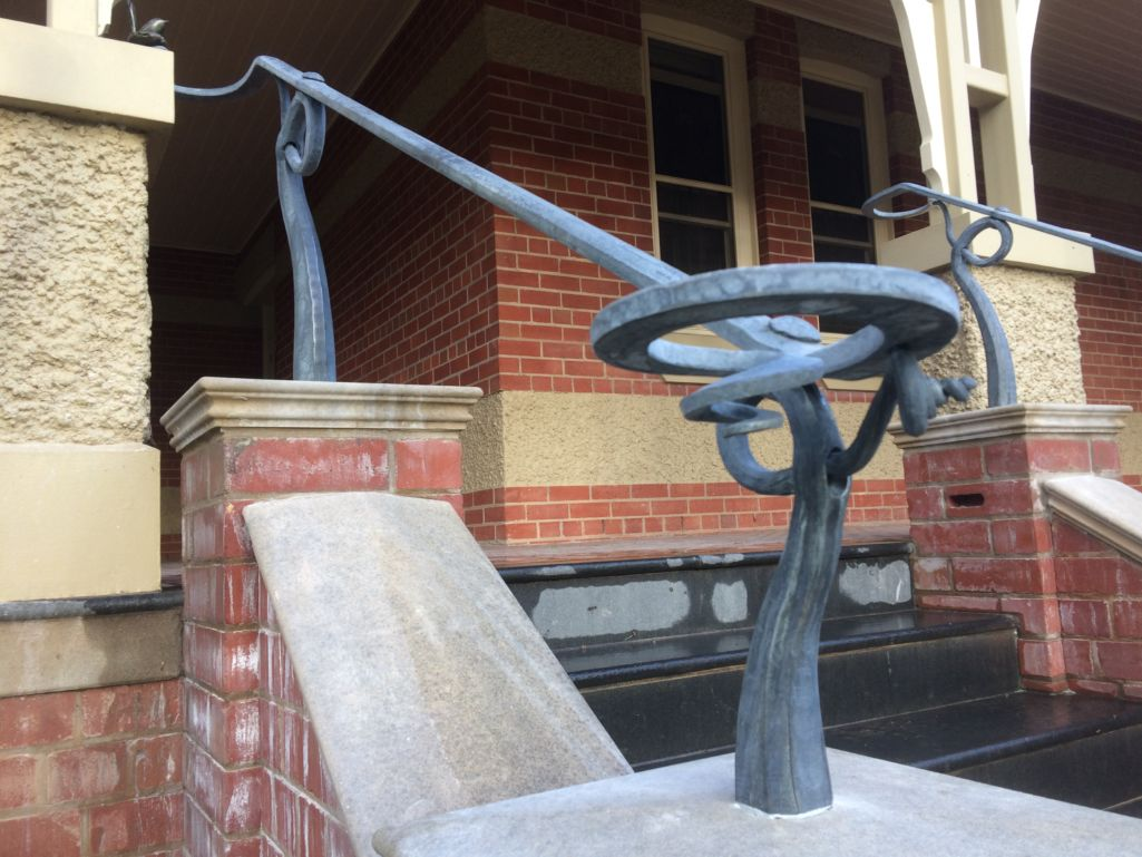 wagga blacksmith wagga custom made steel wagga forged iron riverina architectural metalwork bespoke steel hand crafted