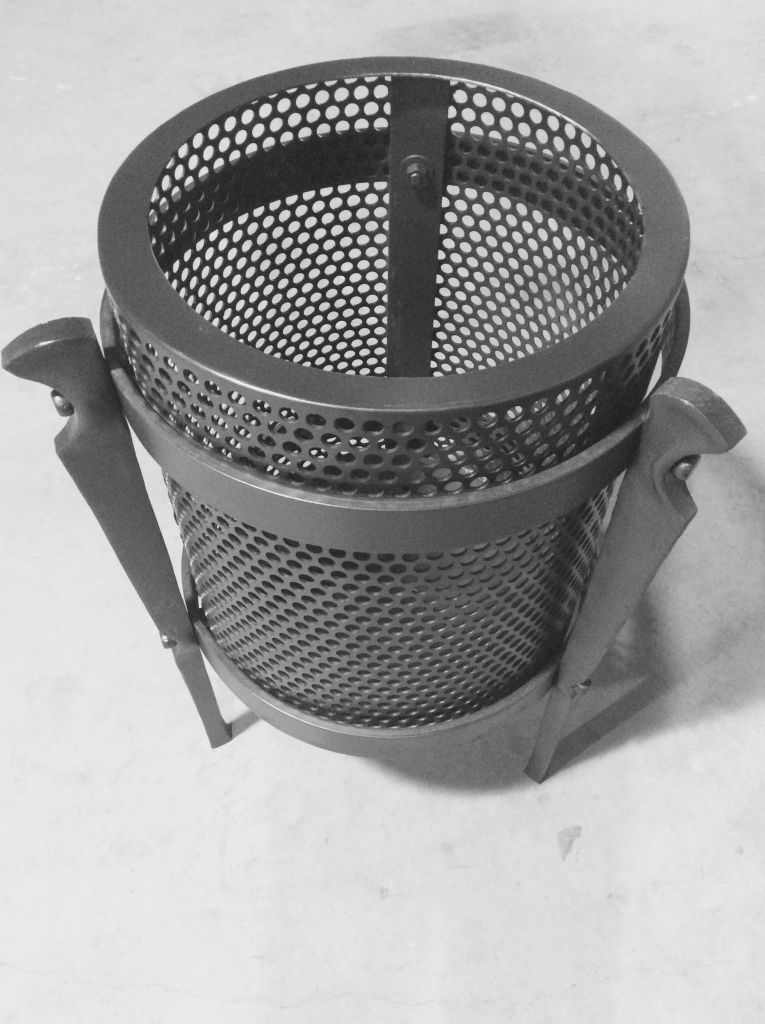 FIRE BUCKET FORGED STEEL CUSTOM MADE BLACKSMITH WAGGA BESPOKE METAL WORK WAGGA